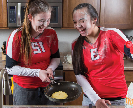 Karen Chin '15 and Emily Heuermann '15