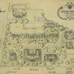 A map of Carthage former Illinois campus.