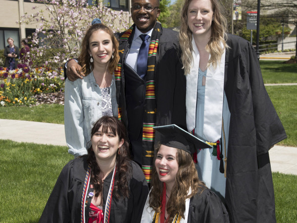 More than 600 new graduates participated in the 2019 Commencement on May 26.